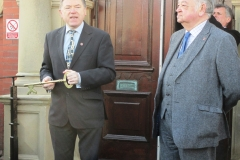 Cllrs Peter Buckley and Ed Nash