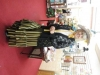 Anne at The Swallows charity shop