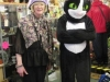 Christine and Felix the Cat at Fylde Cat Rescue