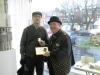 Silhouette artist Steve Abbott at Sopers Bespoke
