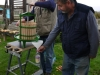 Using the apple press