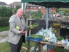 Tony Ford with allotment produce