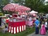 Candyfloss stall in Ashton Gardens