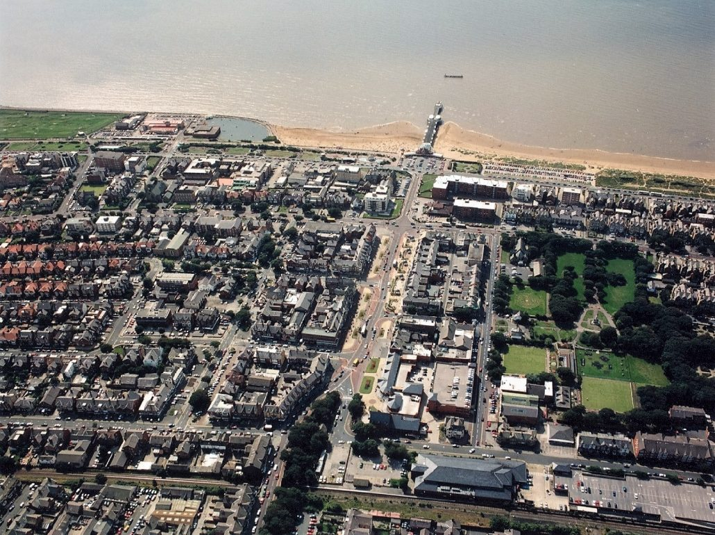 Aerial view of St Annes