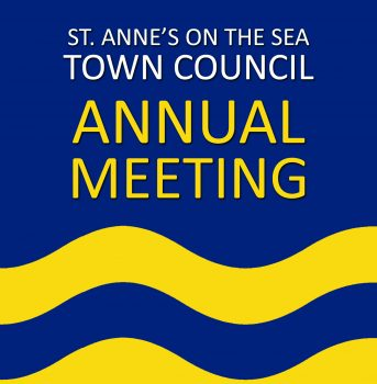 Town Council Annual Meeting poster